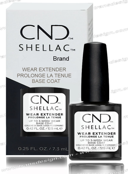 CND SHELLAC Wear Extender Base Coat 0.42oz.