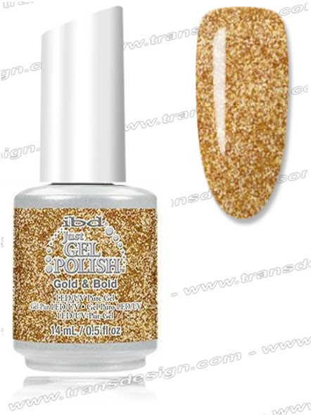 IBD Just Gel Polish - Gold & Bold