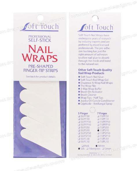 SOFT TOUCH 7 Finger Silk Strip 10/Pack