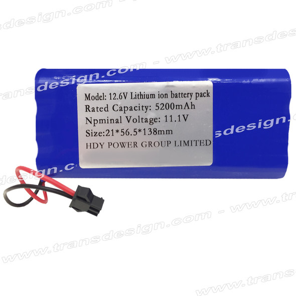 EVERLASTING REPLACEMENT Lithium Battery 12.6 Volts 5200 mAh