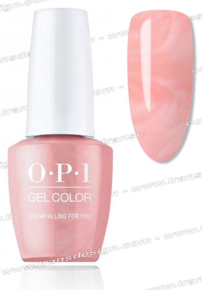 OPI GelColor -  Snowfalling For You 0.5oz.