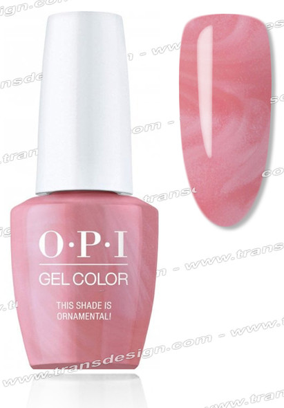 OPI GelColor - This Shade Is Ornamental 0.5oz.