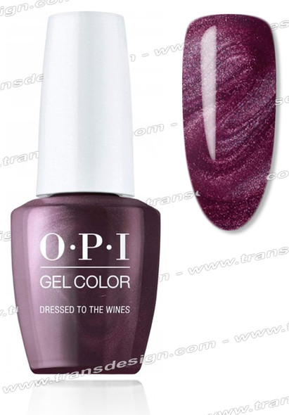 OPI GelColor - Dressed To The Wines 0.5oz.