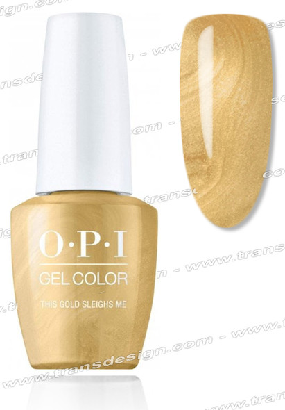 OPI GelColor - This Gold Sleighs Me 0.5oz.
