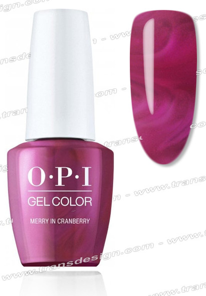 OPI GelColor - Merry In Cranberry 0.5oz.