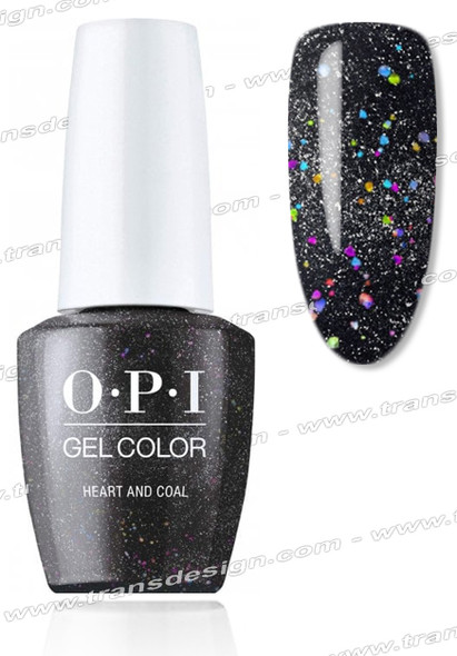 OPI GelColor - Heart And Coal 0.5oz.