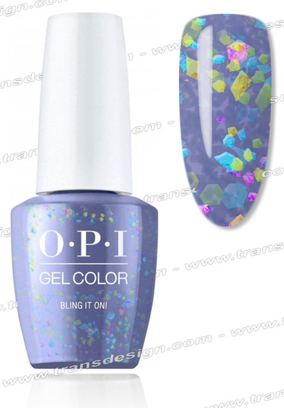 OPI GelColor - Bling It On 0.5oz.