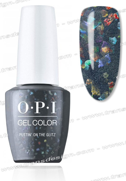 OPI GelColor - Puttin' On The Glitz 0.5oz.