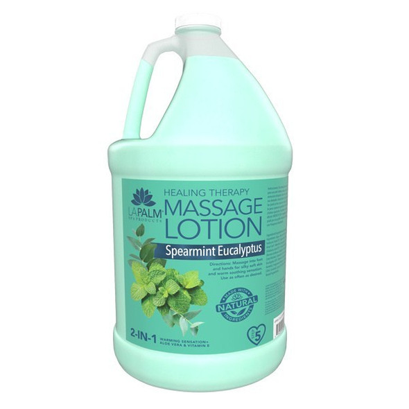 LA PALM Spearmint Eucalyptus Massage Lotion