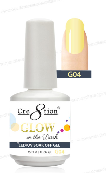 CRE8TION - Glow In The Dark Soak Off Gel .5 oz - G04