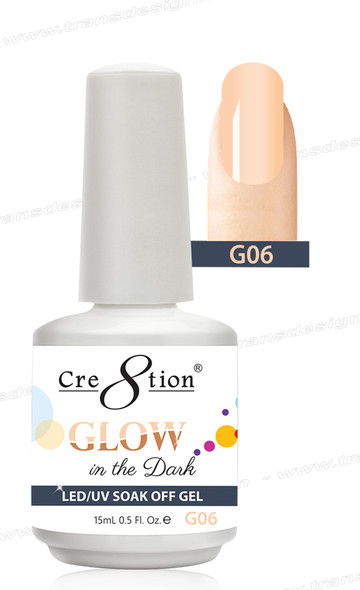 CRE8TION - Glow In The Dark Soak Off Gel .5 oz - G06