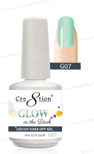 CRE8TION - Glow In The Dark Soak Off Gel .5 oz - G07