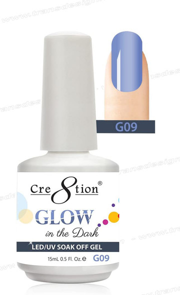 CRE8TION - Glow In The Dark Soak Off Gel .5 oz - G09