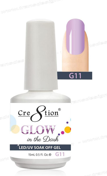 CRE8TION - Glow In The Dark Soak Off Gel .5 oz - G11
