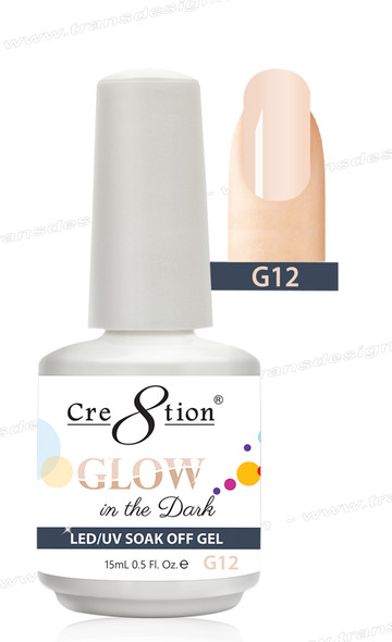 CRE8TION - Glow In The Dark Soak Off Gel .5 oz - G12