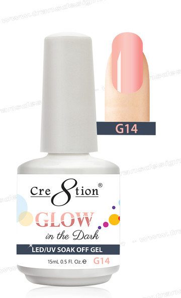 CRE8TION - Glow In The Dark Soak Off Gel .5 oz - G14