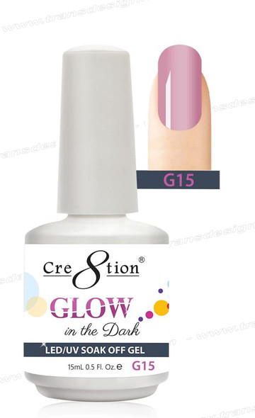 CRE8TION - Glow In The Dark Soak Off Gel .5 oz - G15