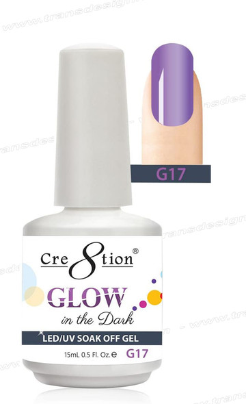 CRE8TION - Glow In The Dark Soak Off Gel .5 oz - G17