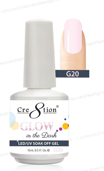 CRE8TION - Glow In The Dark Soak Off Gel .5 oz - G20