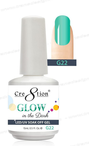 CRE8TION - Glow In The Dark Soak Off Gel .5 oz - G22