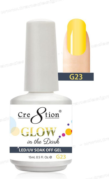 CRE8TION - Glow In The Dark Soak Off Gel .5 oz - G23