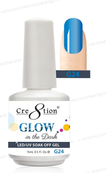 CRE8TION - Glow In The Dark Soak Off Gel .5 oz - G24