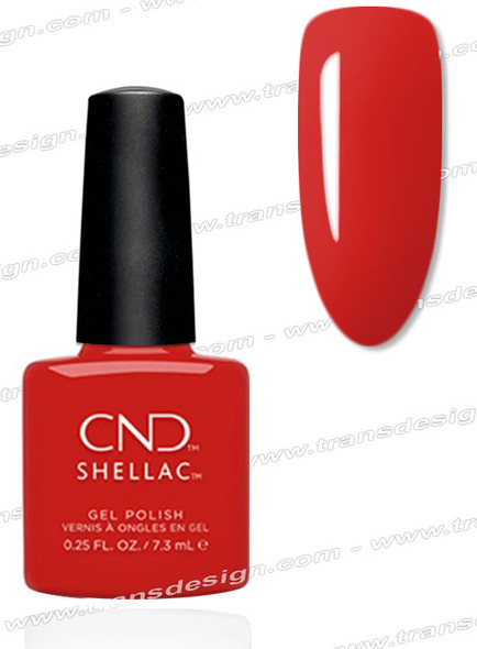 CND SHELLAC-Devil Red 0.25oz.