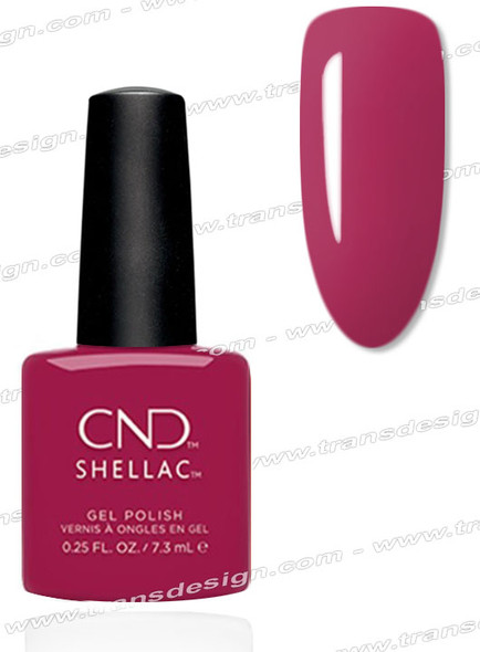 CND SHELLAC-How Merlot  0.25oz.