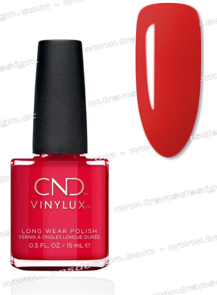 CND Vinylux - Devil Red 0.5oz.