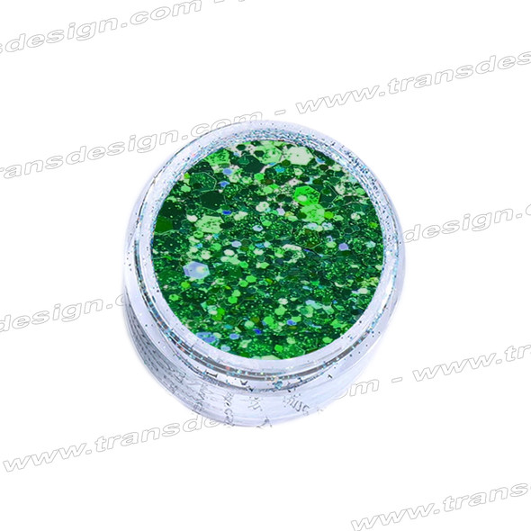 INSTANT CHUNKY GLITTER Peacock Teal 0.25oz.