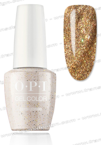 OPI GelColor -  Depth Leopard 0.5oz.