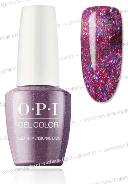 OPI GelColor -  Multi-Dimensional Diva 0.5oz.