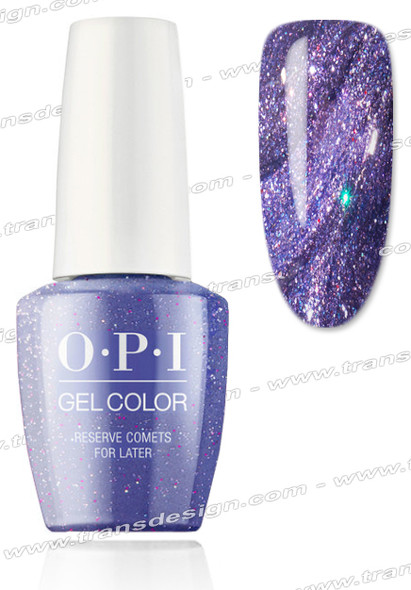 OPI GelColor -  Reserve Comets For Later 0.5oz.