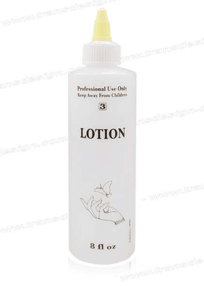 "EMPTY Imprinted Bottle ""LOTION"" 8oz."