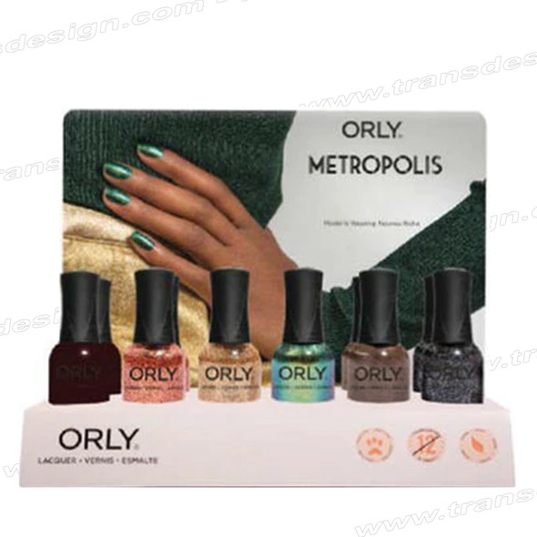 ORLY Metropolis Collection 12pc. W/6pc Back Up