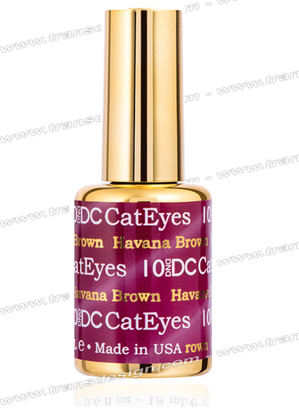 DND DC - Cat Eyes Havana Brown #10 0.6oz.