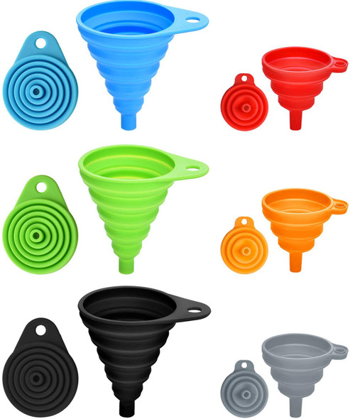 Silicone Collapsible Funnel Small