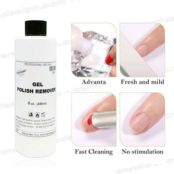 INSTANT Gel Polish Remover 8oz.