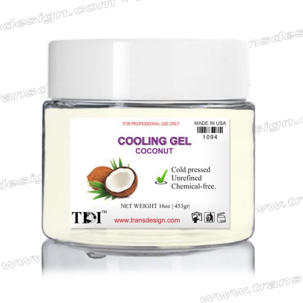 TDI Cooling Gel Coconut 16oz.