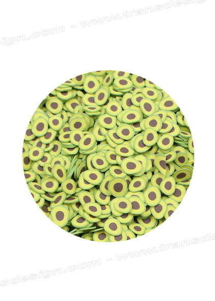 NAIL ART Fimo Slices Avocado 700/Pack
