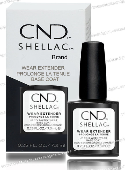 CND SHELLAC Wear Extender Base Coat 0.25oz.