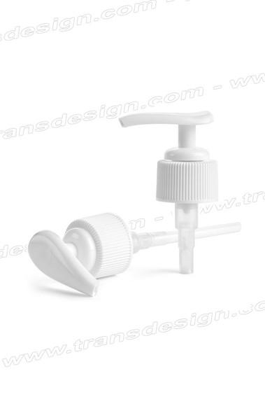 White Lotion Pump 24/400 Neck