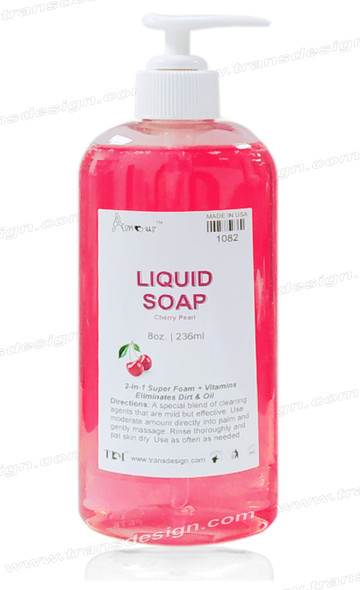 AMOUR Liquid Soap Cherry Pearl 8oz.