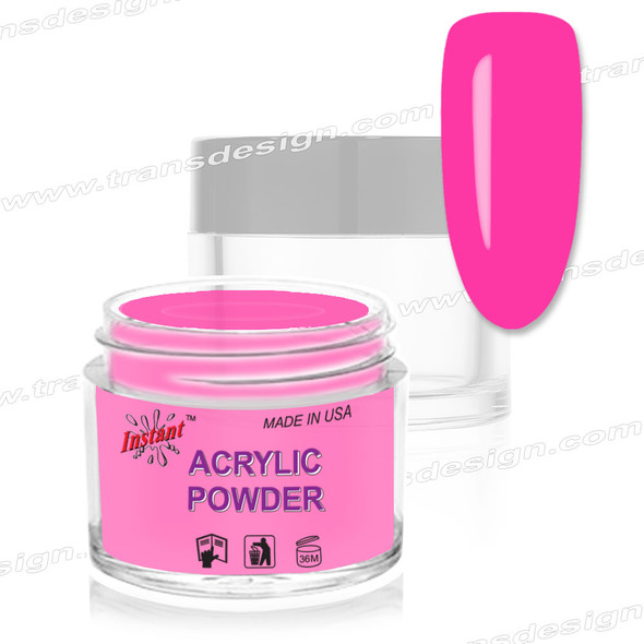 INSTANT ACRYLIC & DIP COLOR - Electric Pink 2oz.