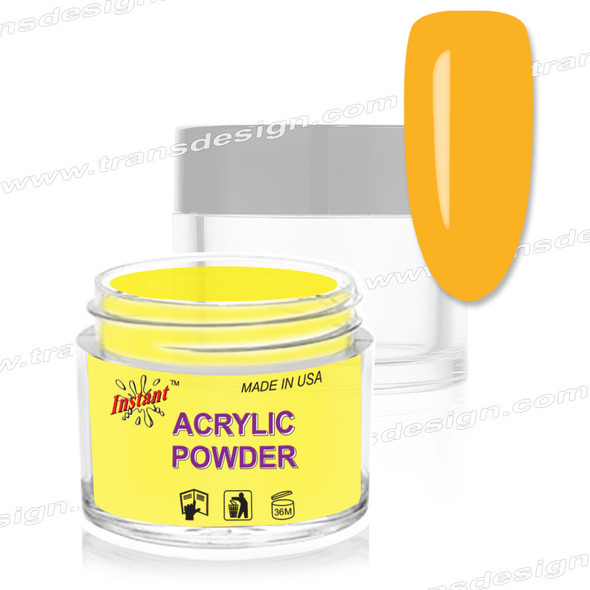 INSTANT ACRYLIC & DIP COLOR - Yellow Yellow 2oz.