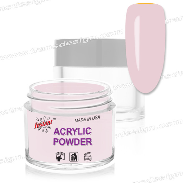 INSTANT ACRYLIC & DIP COLOR - OMBRE Frosted Cotton Candy 2oz.