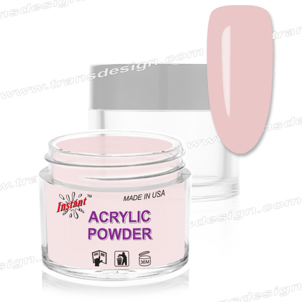 INSTANT ACRYLIC & DIP COLOR - OMBRE Cover Blush Pink 2oz.