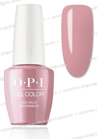 OPI GelColor -  Suzi Calls The Paparazzi 0.5oz.