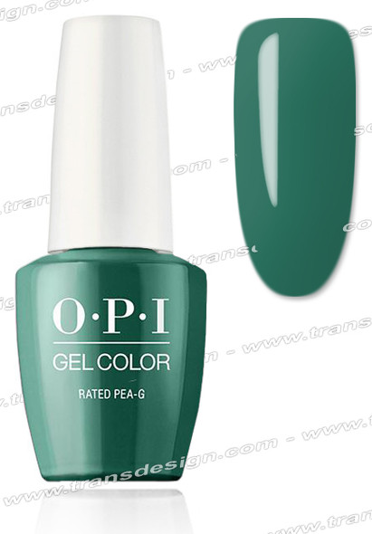 OPI GelColor - Rated Pea-G 0.5oz.