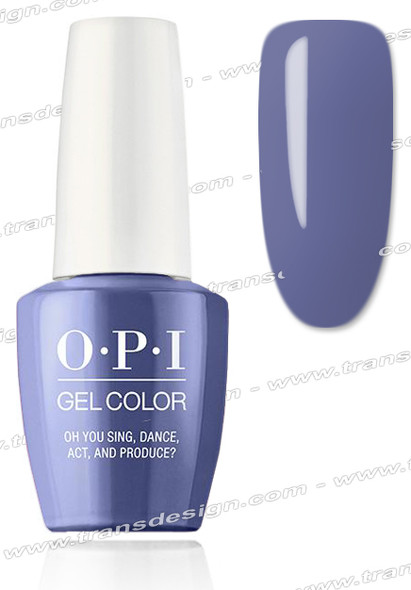 OPI GelColor - Oh You Sing, Dance, Act, And Produce?  0.5oz.
